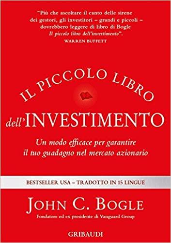 Il piccolo libro dell'investimento - John C. Bogle - copertina